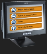 infotainment touch panel pc